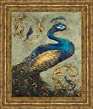 Classy Art Peacock On Sage I by Tiffany...