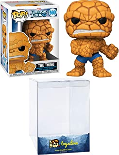 The Thing: Funk o Pop! Vinyl Figure Bundle with 1 Compatible 'ToysDiva' Graphic Protector (560 -...