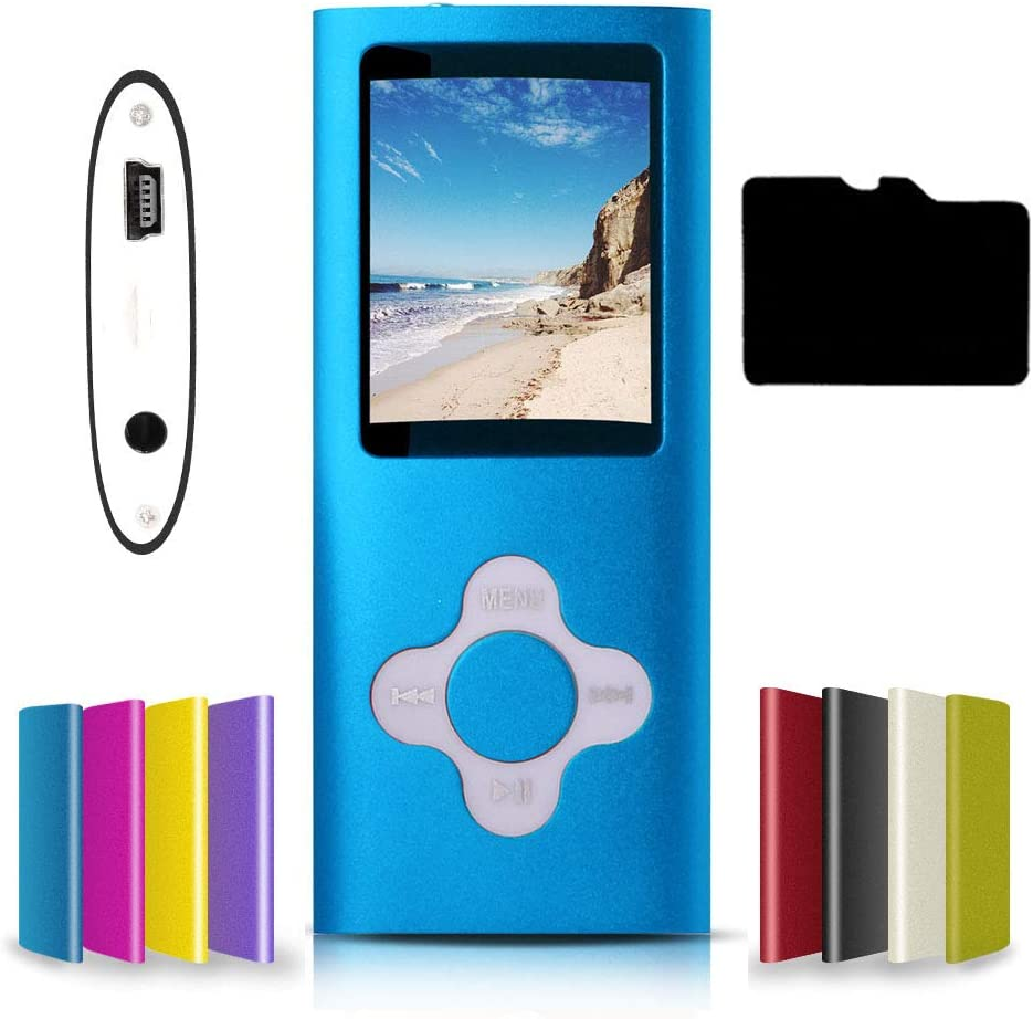 G.G.Martinsen Versatile MP3/MP4 Player with a Micro SD Card, Support Photo Viewer, Digital MP3 Player, MP4 Player, Video/Media/Music Player-(ANLAN)