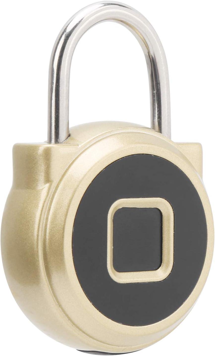 San Jose Mall Surprise price Labuduo Electronic Padlock High Fingerpri Anti‑Theft Strength