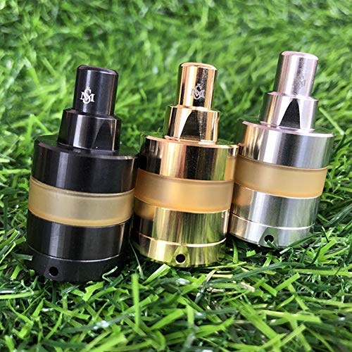 Kayfun lite RTA Atomizer 22 mm Durchmesser, 2 ml Kapazität E Cigarettes Vape Atomizer (Black,24MM)