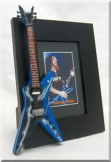 DIMEBAG DARRELL Miniature Guitar Picture Frame Dean Blue Lighting