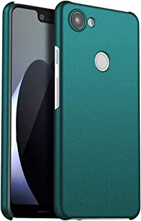 Laak Compatible with Google Pixel 3A XL/3XL Lite Matte Slim Fit Case, Hard Plastic PC Ultra Thin Case with Anti-Scratch Resistant Shock Absorption Cover Green