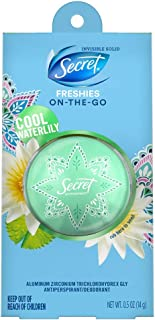 discreet deo water lily