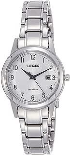 Citizen 西铁城刻度盘石英手表 不锈钢表链 FE1081-59B