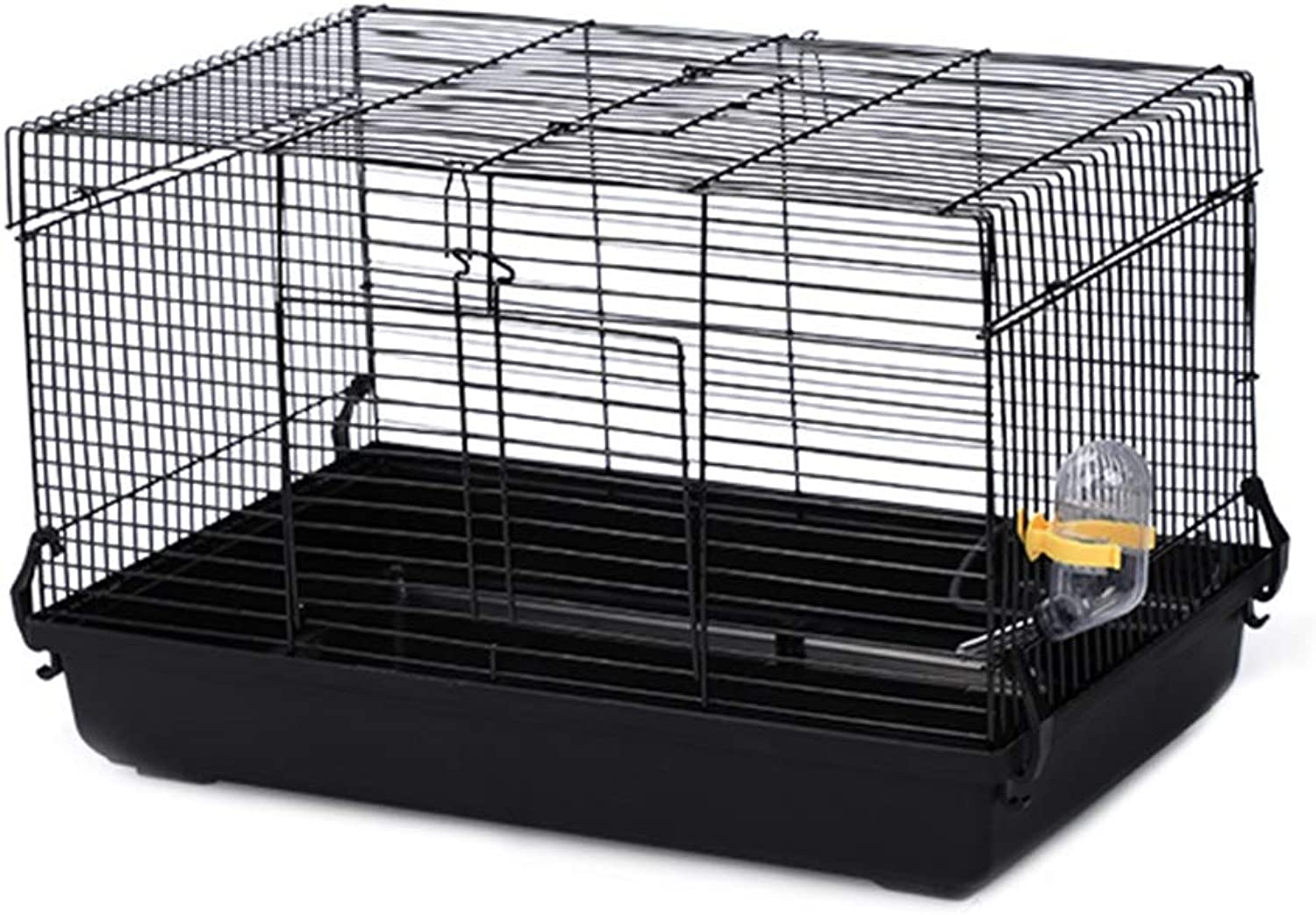 LSS Hamster Cage, Large Villa, Black Iron Wire Pet House For Small Hamsters And Gerbils