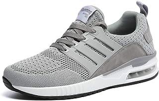 Hombre Mujer Zapatillas Running para Aire Libre y Deporte Transpirables Casual Zapatos Gimnasio Correr Sneakers 36-44EU