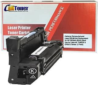 Calitoner Remanufactured Toner Cartridge Replacement for HP HP COLOR LASERJET CP6015 BLACK DRUM ( Black , 1-Pack )