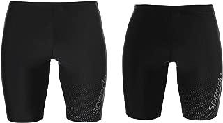 Speedo Gala Swimming Jammers Mens Bottoms Swimwear Sportswear X-Small Black