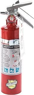 Buckeye 13315 ABC Multipurpose Dry Chemical Hand Held Fire Extinguisher with Aluminum Valve and Vehicle Bracket, 2.5 lbs Agent Capacity