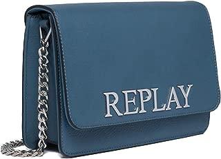 Replay Women's Shoulder Bag Metallic 25Cm
