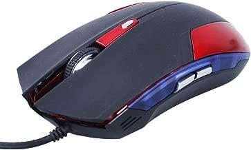 A-szcxtop Cobra Junior 1600dpi Gaming Mouse Red LED Light EMS109L Portable Consumer Electronic Gadget Shop