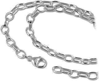 SilberDream D2FC0027 - Collana in Argento Sterling 925, 100 cm, Ideale Come Regalo per Natale, Compleanno, San Valentino