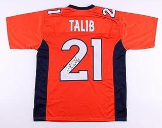 Aqib Talib Signed Denver Broncos Jersey (JSA COA)