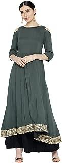 Aujjessa Women's Grey Skirt Set