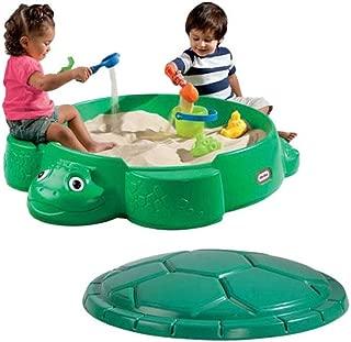 Turtle Round Sandbox-Construction Material: 100% Plastic