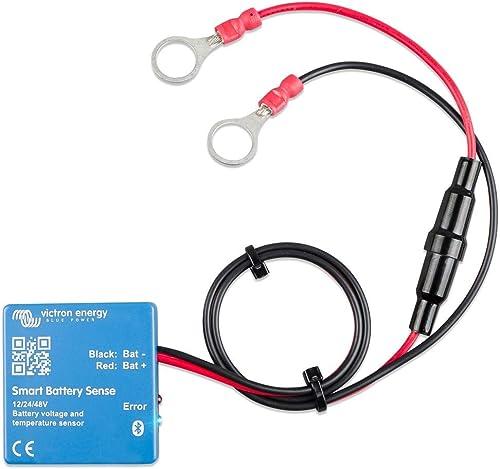 Victron Energy Smart Battery Sense Capteur de tension et de température pour charge solaire MPPT Portée jusqu'à 10 m
