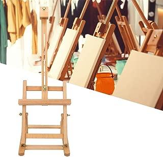 Caballete para pintura de mesa, caballete plegable de madera