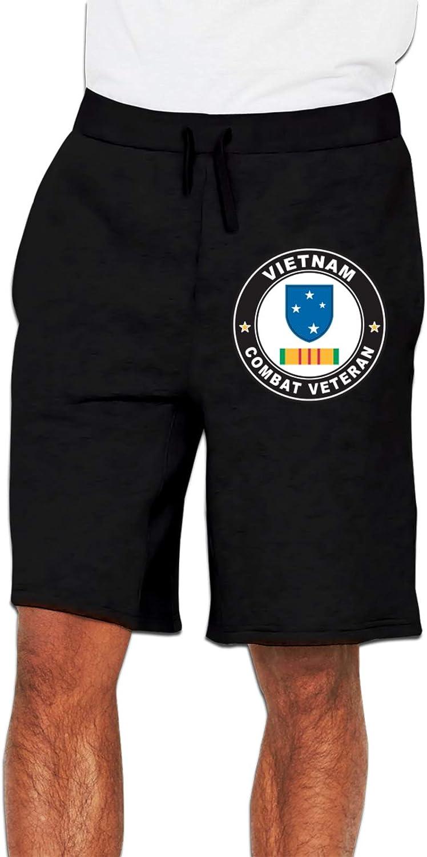 23rd Infantry (Americal) Division Vietnam Combat Veteran Mans Pants Fashion Running Pants Casual Training Pants