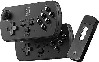 Mini jeux HD Console rétro, 1700/3500 Jeux sans fil à 6 boutons HDMI Gamme de contrôle intégrée de 8 m Classic FC SFC GBA ...
