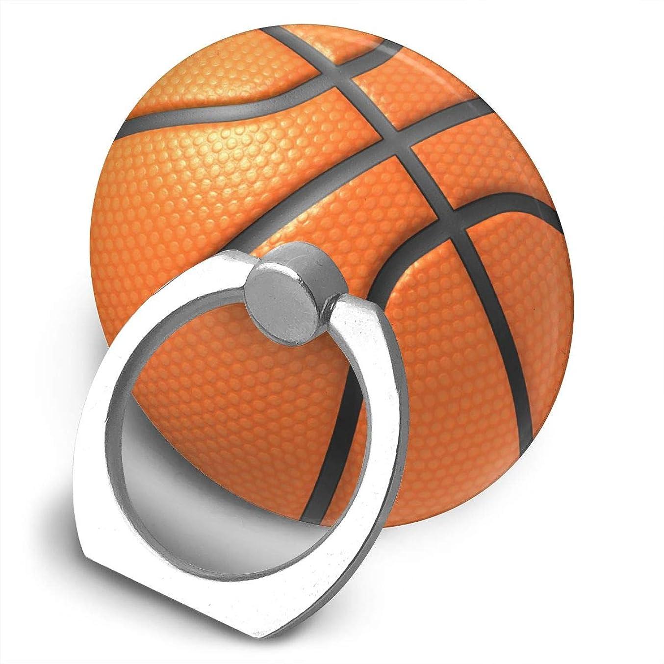 ハリウッド神目を覚ますバスケットボール 360度回転 携帯リング スタンド スマホスタンド ホルダー 薄型 指輪 リング 携帯アクセサリースタンド機能 落下防止