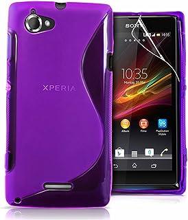 c5502c3f67e Tienda vcomp® S Line TPU Silicona Funda Carcasa para Sony Xperia L  S36H/C2105