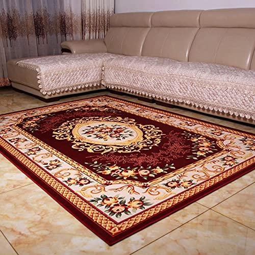 Universal Alfombra Pelo Corto Velur Liso, Palacio Retro Nórdico Adecuado para la decoración de Salas de Estar y dormitorios,120X160(47X63inch)