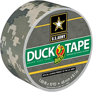 Duck Available Brand 1388825 Printed Duct Tape, Digital Camouflage, 1.88 Inches x 10 Yards, Single Roll