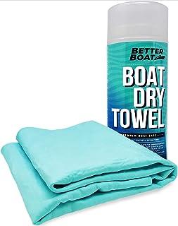 Ultra saugfähiges Fensterleder, synthetisches glattes Shammy Handtuch für Auto und Boot, Marine Grade Trocken  und Reinigungsmittel.