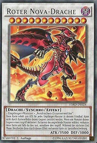 Yu-Gi-Oh! Roter Nova Drache - 1. Auflage - Deutsch