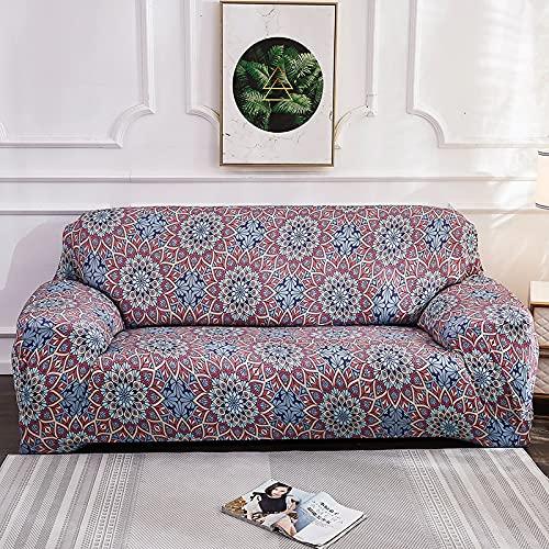 WXQY Funda Protectora de sofá elástica Simple Funda Protectora de sofá Antideslizante Todo Incluido Funda Protectora de sofá combinada para Mascotas A17 1 Plaza