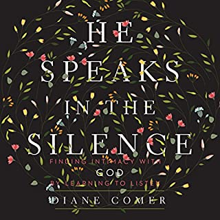 He Speaks in the Silence audiobook cover art