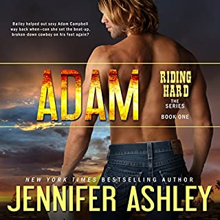 Adam     Riding Hard, Volume 1              By:                                                                                                                                 Jennifer Ashley                               Narrated by:                                                                                                                                 Eric Dove                      Length: 5 hrs and 20 mins     130 ratings     Overall 4.1