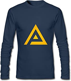 Men's Fashion Adrian Peterson Logo3 Long-sleeve T Navy US Size L