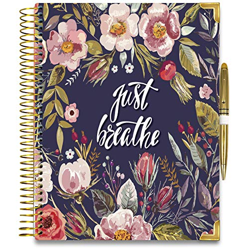 Tools4Wisdom 2020 Planner - Gold Edition w Pen - 8.5x11 Hardcover (2020-Q4G)