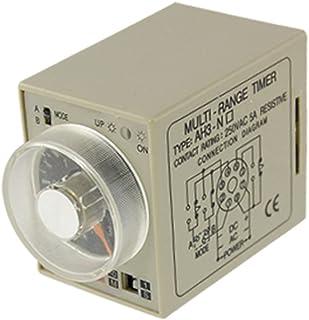 Aexit AC 220V 0-3s 0-30m 8 pin Encendido Temporizador de relé de