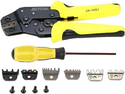 Gelb  NEU 4 in 1 Crimpzange Werkzeug-Set Werkzeug-Set Werkzeug-Set Multitool Engineering Ratsche Terminal Zange Crimpzange Crimpzange -1  ENDE Terminals B077XS712K | Bestellung willkommen  752b37