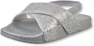 First Steps Baby Girls' Slide Sandals