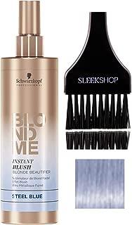 Best schwarzkopf blondme instant blush steel blue Reviews