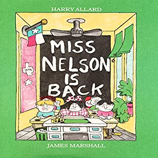 Miss Nelson Is Back audiobook cover art