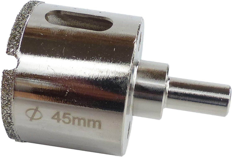 Fliesenbohrer Ø45mm Glasbohrer Diamantbohrer Kernbohrer Bohrkrone Hohlbohrer Lochsäge BOHRFUX B07GY3CLDJ | Realistisch