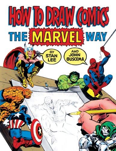 How To Draw Comics The Marvel Way (Turtleback School & Library Binding Edition)