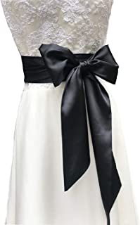 Special Occasion Dress sash Bridal Belts Wedding sash 4'' Wide Double Side