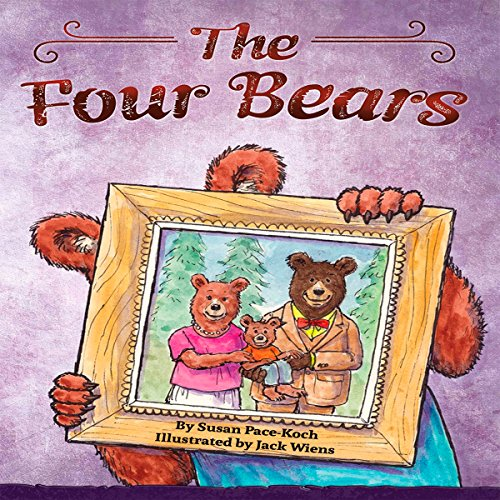 The Four Bears audiobook cover art