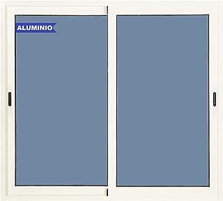 comprar comparacion Ventana Aluminio Corredera 1000 ancho x 1000 alto 2 hojas