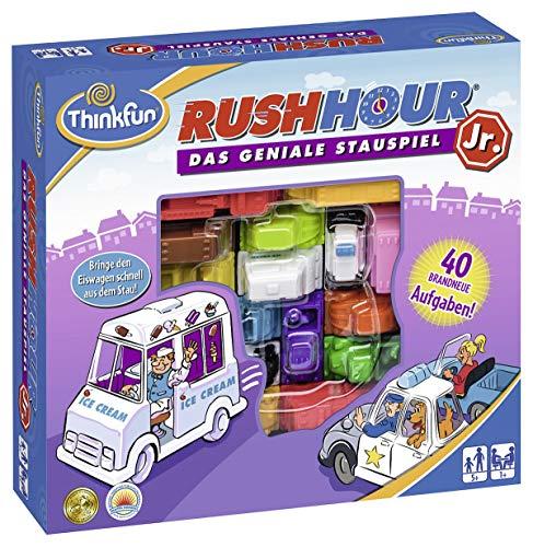 ThinkFun 76303 Rush Hour® Junior - Juego lógico para Jugadores más jóvenes