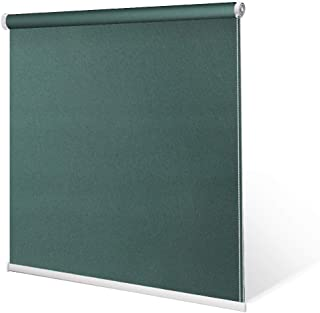 """SCHRLING No Drill Daylight Roller Shade Tension Inside Mount Expansion Window Blind,Custom Size:20""""-90""""W,20""""-98""""L"""
