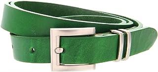 mejor selección 4ff90 80452 Amazon.es: cinturon piel mujer estrecho - Verde / Cinturones ...
