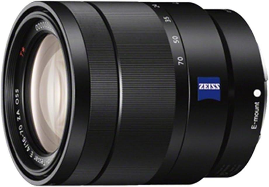 Sony SEL-1670 Vario-Tesslar T* E ZA OSS - Objetivo para Sony/Minolta (distancia focal 16-70mm apertura f/4 estabilizador de imagen) color negro