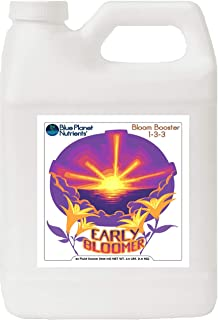 Early Bloomer Bloom Booster Quart (32 oz) Blue Planet Nutrients   Increase Buds & Flowers   Hydroponic Aeroponic Soil Coco Coir Soil-Less  for All Fruiting & Flowering Plants